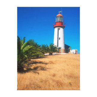 Lighthouse, Robben Island, Cape Town Canvas Prints