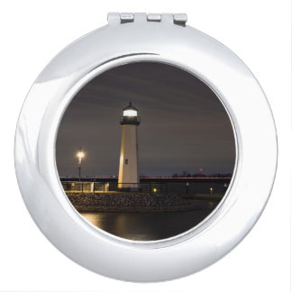 Lighthouse Rockwall Harbor Mirror For Makeup