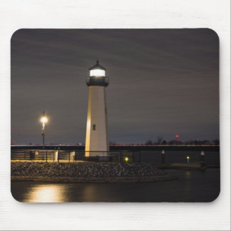 Lighthouse Rockwall Harbor Mouse Pad
