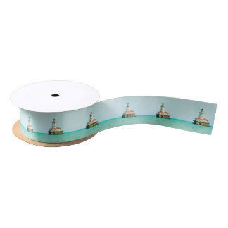lighthouse satin ribbon