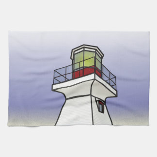 Lighthouse Sea Scene Towel