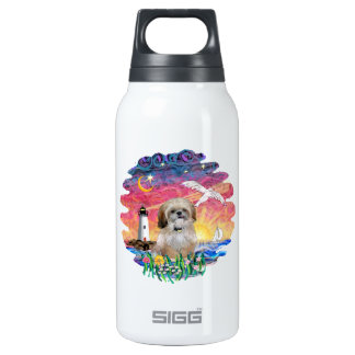 Lighthouse & Seagull - Shih Tzu (P) Insulated Water Bottle
