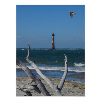 Lighthouse Sightseeing Poster