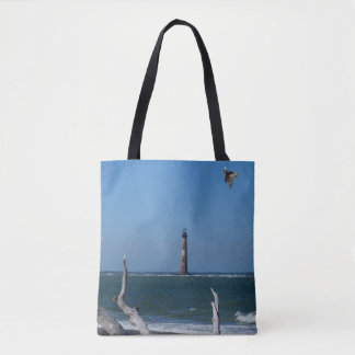 Lighthouse Sightseeing Tote Bag
