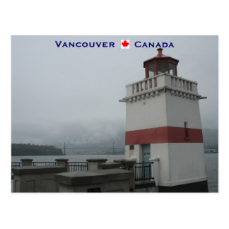 Lighthouse Stanley Park Vancouver Canada Postcard