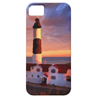 Lighthouse sunrise iphone iPhone 5 cover