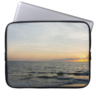 Lighthouse Sunrise Laptop Sleeve