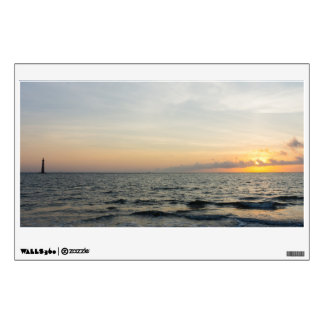 Lighthouse Sunrise Wall Decal