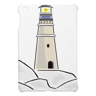 lighthouse tower design iPad mini covers