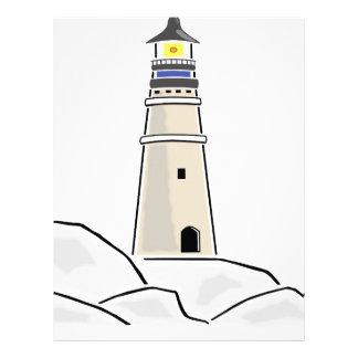 lighthouse tower design letterhead