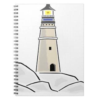 lighthouse tower design notebook