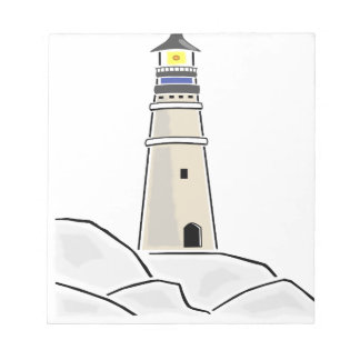 lighthouse tower design notepad