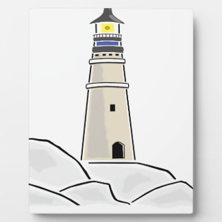 lighthouse tower design plaque
