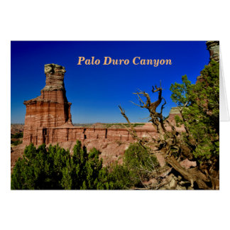 Lighthouse View in Palo Duro Card