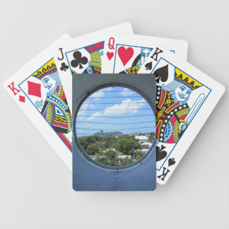 Lighthouse view of Mallory Square Poker Deck
