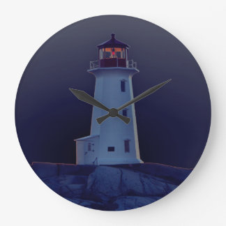 Lighthouse Wall  clock Peggy's Cove Nova Scotia