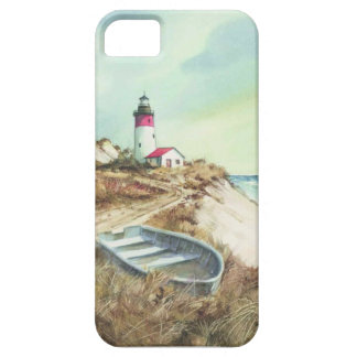 lighthouse watercolor iPhone 5 case