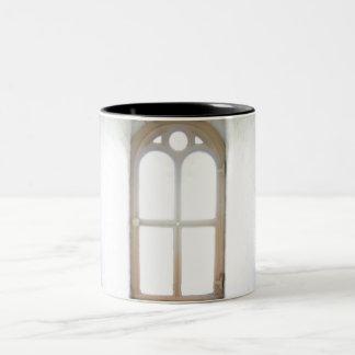 Lighthouse Window Two-Tone Coffee Mug