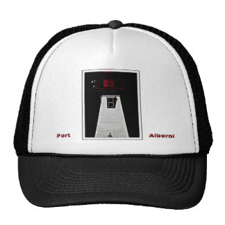 Lighthouse with crow hat, Port, Alberni BC Trucker Hat