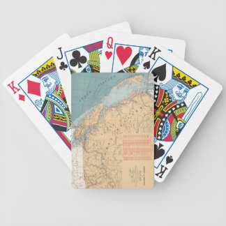 Lighthouses and Sailing Routes of British Columbia Bicycle Playing Cards