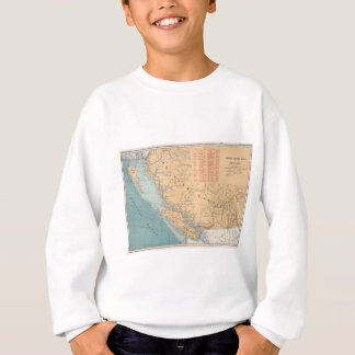 Lighthouses and Sailing Routes of British Columbia Sweatshirt