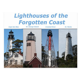 Lighthouses in Florida Postcard