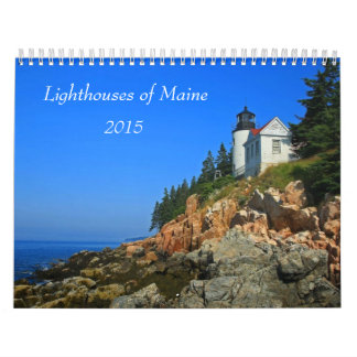 Lighthouses of Maine Wall Calendars