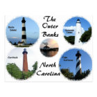 Lighthouses of the Outer Banks Postcard