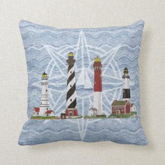 """""""Lighthouses"""" Throw Pillow"""