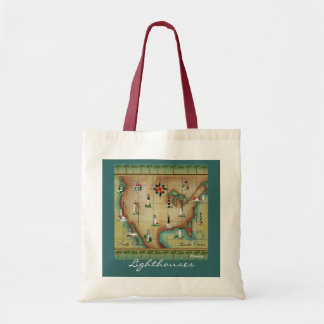 Lighthouses, Tote Bag