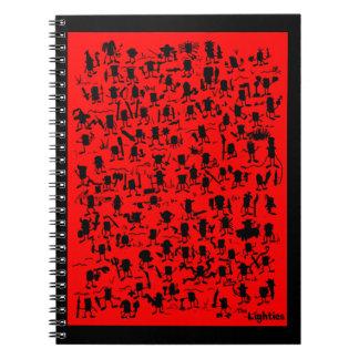 Lighties Silhouette Notebook