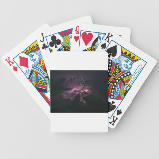 Lighting Bolt Bicycle Playing Cards