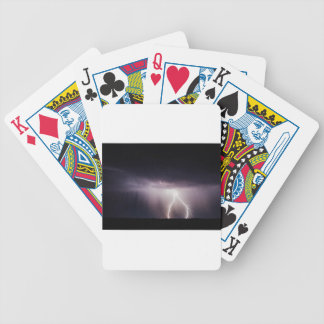 Lighting Bolt (Storm) Bicycle Playing Cards