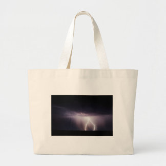 Lighting Bolt (Storm) Large Tote Bag