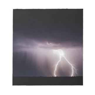 Lighting Bolt (Storm) Notepad