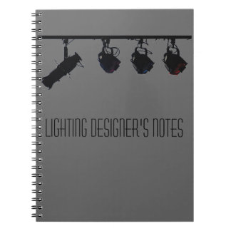 Lighting Designer's Notes Notebooks