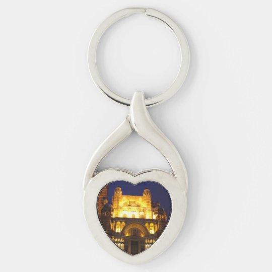 Lighting Heart Keychain