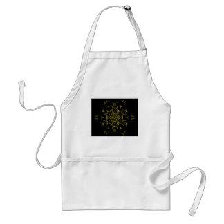 Lighting mandala standard apron