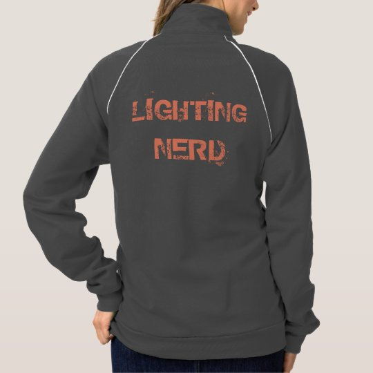 Lighting Nerd long sleeve Jacket