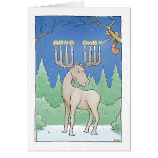 lighting the moosnorah card