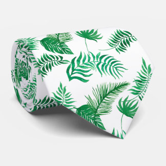 Lightly Scattered Jungle Fonds Tie