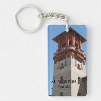 Lightner Museum in St. Augustine Florida Single-Sided Rectangular Acrylic Keychain
