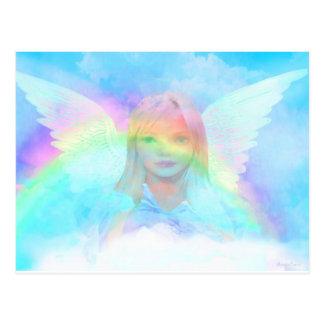 Lightness of an Angel Postcard