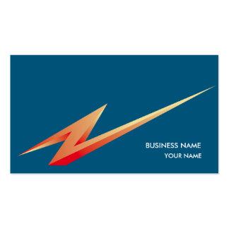 LIGHTNING3 BUSINESS CARD BLUE