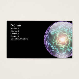 Lightning Ball Card