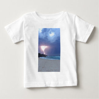 Lightning Beach Baby T-Shirt