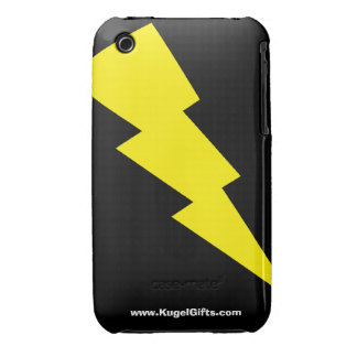 """""""Lightning Bolt"""" 3G/3GS Barely There iPhone 3 Covers"""