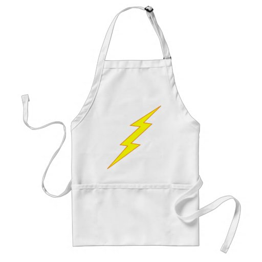 Lightning Bolt Aprons