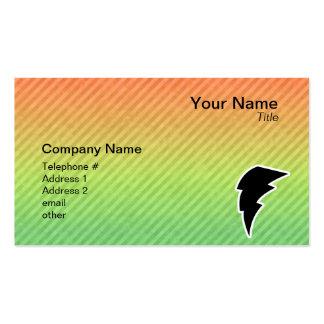 Lightning Bolt Business Card Templates