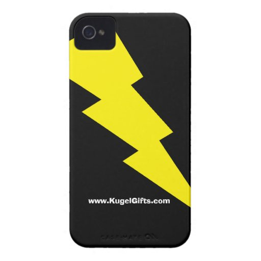 """""""Lightning Bolt"""" Case-Mate ID 4/4S Case-Mate iPhone 4 Cases"""